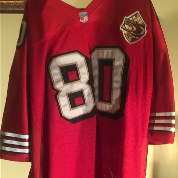 pretty nice 655b8 c0c0c Jerry rice NFL football jersey .